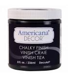 AMERICANA DECOR CHALKY ACABADO TIZA 236 ML : AMERICANA CHALKY:ADC29 CARBÓN