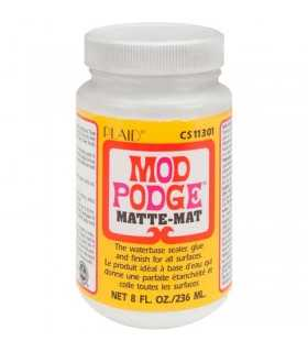 MOD PODGE MATE 236ml SELLADOR, COLA, TERMINACIÓN