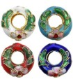 CRIOLLAS CLOISONNE 15 MM AGUJERO 2 MM 2 UD