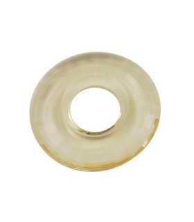 DONUT RESINA GOLDEN 38x5 MM INTERIOR 15 MM 1 UD