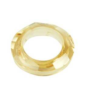 ANILLA RESINA GOLDEN 14x4 MM INTERIOR 8 MM 5 UD