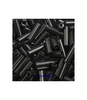 CANUTILLO 6x1,8 MM ECO NEGRO 10 GRAMOS