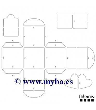 Plantilla Para Cajas Cúbicas 65x65 Cm Artemio
