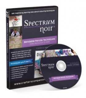 CD EN INGLÉS BLENDABLE PENCIL TECHNIQUES SPECTRUM