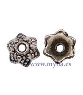 CASQUILLAS 9x5 MM PLATINO 8 UNIDADES