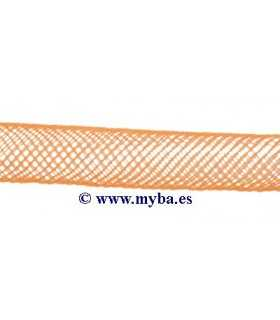 TUBO RED NYLON 4 MM DIÁMETRO x 1 METRO NARANJA