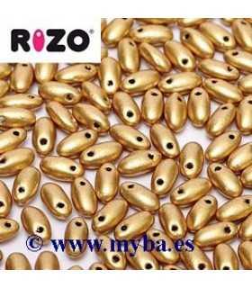 RIZO 2,5x6 MM AZTEC GOLD 00030/01710 10 GRAMOS
