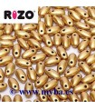 RIZO 2,5x6 MM AZTEC GOLD 00030-01710 10 GRAMOS