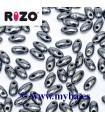 RIZO 2,5x6 MM JET HEMATITE 23980-14400 10 GRAMOS