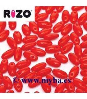 RIZO 2,5x6 MM ROJO OPACO 93200 10 GRAMOS