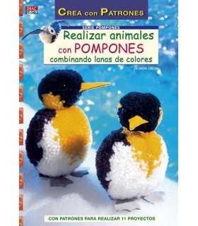REALIZAR ANIMALES CON POMPONES. EL DRAC