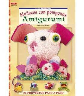 MUÑECOS CON POMPONES AMIGURUMI. EL DRAC