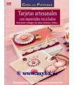 TARJETAS ARTESANALES CON MATERIALES RECICLADOS