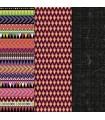 PAPEL DECOUPAGE DECOART TRIBAL 30,5x40,6 CM 3 UD