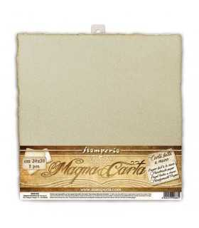 PAPEL ARTESANAL HECHO A MANO 30x30 ANCIENT 2 UD