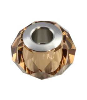 BECHARMED BRIOLETTE SWAROVSKI 14mm LT SMOKED TOPAZ