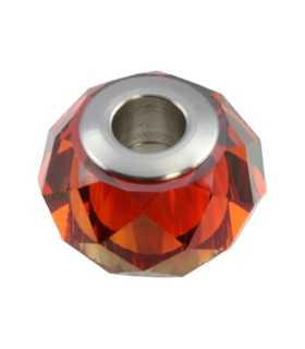 BECHARMED BRIOLETTE SWAROVSKI 14 MM CRYS RED MAGMA