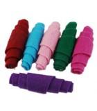 TUBOS FIELTRO ARTESANALES 36x12 MM MIX 5 UD : color:Mix