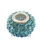 CUENTA STRASS Y RESINA 14,5x11 MM AGUJ 5 MM 1 UD : color:Azul Claro