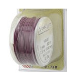 HILO COBRE ARTISTIC WIRE 0,64 MM 7,3 METROS : color:Violeta