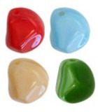 CUENTAS BARROCAS DE CRISTAL CHECO 9 mm. : Unidades:Envase 25 Ud aprox., color:Mix