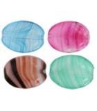 PERLAS DE CRISTAL CHECO SOPLANO 12 x 9 mm : Unidades:Envase 25 Ud aprox., color:Mix