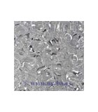 TWIN BEADS PRECIOSA 2,5x5 MM TRAN 23 GR APROX : TWIN BEADS:00050 CRYSTAL