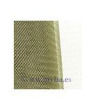 CRIN DE POLYESTER 16 CM ANCHO x 1 METRO : COLORES TOCADOS:Olive Green