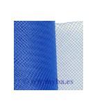 CRIN DE POLYESTER 16 CM ANCHO x 1 METRO : COLORES TOCADOS:Royal Blue
