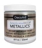 AMERICANA DECOR METALLICS 236 ML : AMERICANA DECOR METALLICS:MTL01 PERLA