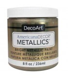 AMERICANA DECOR METALLICS 236 ML : AMERICANA DECOR METALLICS:MTL02 ORO CHAMPÁN