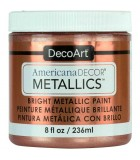 AMERICANA DECOR METALLICS 236 ML : AMERICANA DECOR METALLICS:MTL03 ORO ROSA