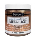 AMERICANA DECOR METALLICS 236 ML : AMERICANA DECOR METALLICS:MTL08 BRONCE ANT.