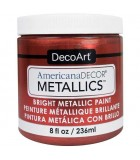 AMERICANA DECOR METALLICS 236 ML : AMERICANA DECOR METALLICS:MTL10 COBRE