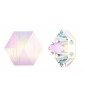 HEXAGON SPIKE BEAD CRISTAL SWAROVSKI 7 MM 4 UD