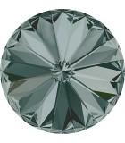 RIVOLI CRISTAL SWAROVSKI 12 MM 4 UNIDADES : color:Black Diamond