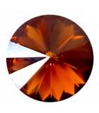 RIVOLI CRISTAL SWAROVSKI 14 MM 2 UNIDADES : color:Crystal Copper