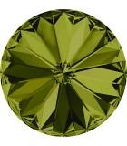 RIVOLI CRISTAL SWAROVSKI 14 MM 2 UNIDADES : color:Olivine