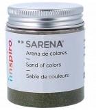 ARENAS DE COLORES SARENA BOTE 110 GRAMOS : SARENA:1716 VERDE OSCURO