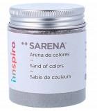 ARENAS DE COLORES SARENA BOTE 110 GRAMOS : SARENA:1741 GRIS CLARO