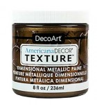 AMERICANA DECOR TEXTURE METAL DIMENSIONAL 236ml : TEXTURE METALLICS:ADTX107 BRONCE OSCURO