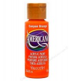 ACRÍLICO AMERICANA 59 ML AMARILLOS, NARANJAS, OCRE : color:238 CANYON ORANGE
