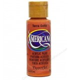 ACRÍLICO AMERICANA 59 ML COLORES CARNE Y MARRONES : color:62 TERRA COTTA