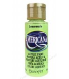 ACRÍLICO AMERICANA 59 ML COLORES VERDES : color:252 LEMONADE