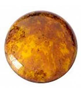 CABOCHON OPAQUE JONQUIL BRONZE 83120-15496 25 MM