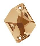 CABUCHÓN COSMIC DOS AGUJEROS 20x16 MM 1 UNIDAD : color:Golden Shadow