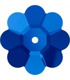 FLOR DE CRISTAL SWAROVSKI DE 6 MM : color:Sapphire, Unidades:Envase 25 Ud aprox.