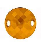 TWIST SEW ON SWAROVSKI 28 MM 1 UNIDAD : color:Crystal Copper