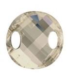 TWIST SEW ON SWAROVSKI 18 MM 1 UNIDAD : color:Crystal Silver Shade