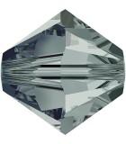 TUPI DE CRISTAL SWAROVSKI COLORES 4 mm 50 UNIDADES : color:Black Diamond